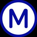 Paris - U-Bahn Logo