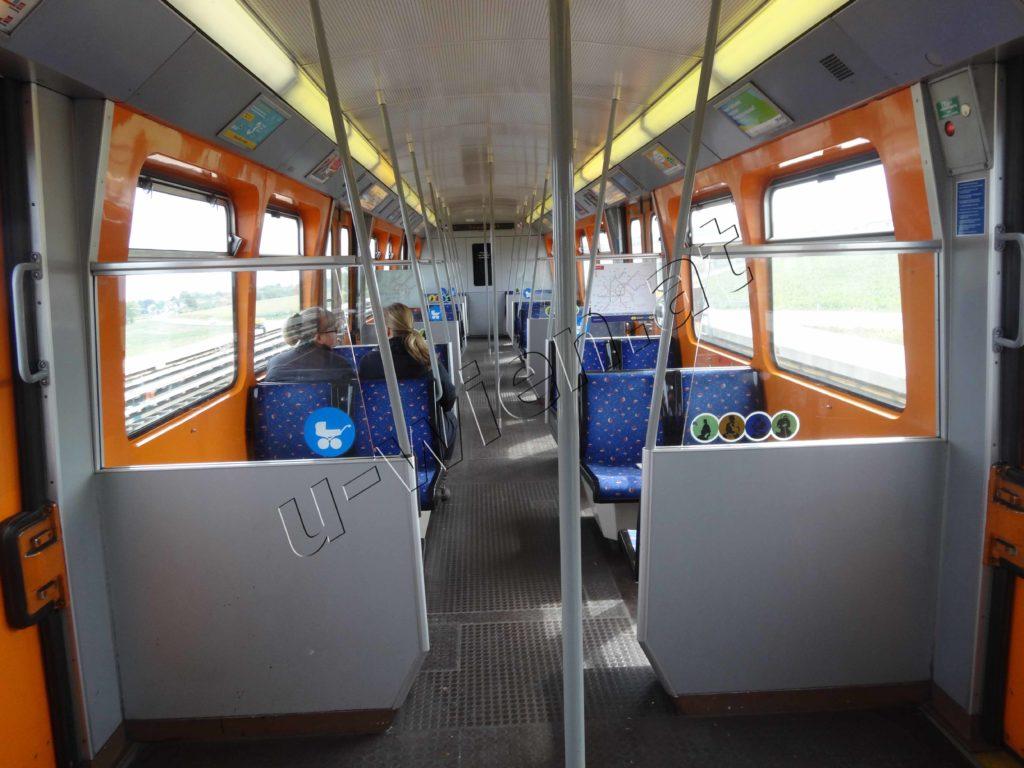 Triebwagen Type U - Innenansicht
