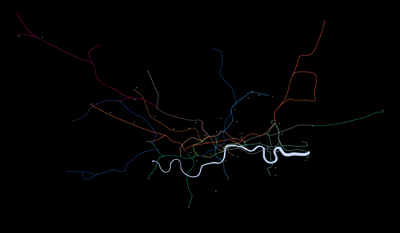 U-Bahnnetz London, 2009