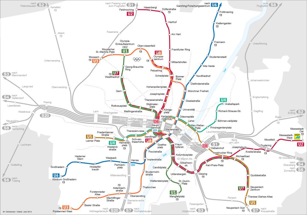 U-Bahnnetz München, 2010