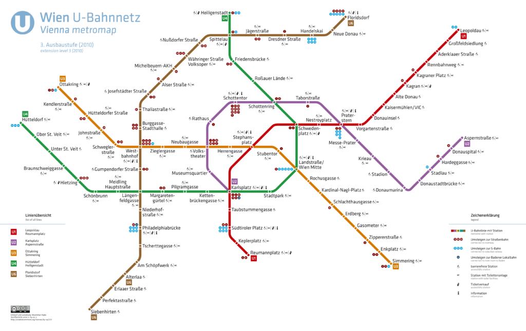 U-Bahnnetz Wien, 2010