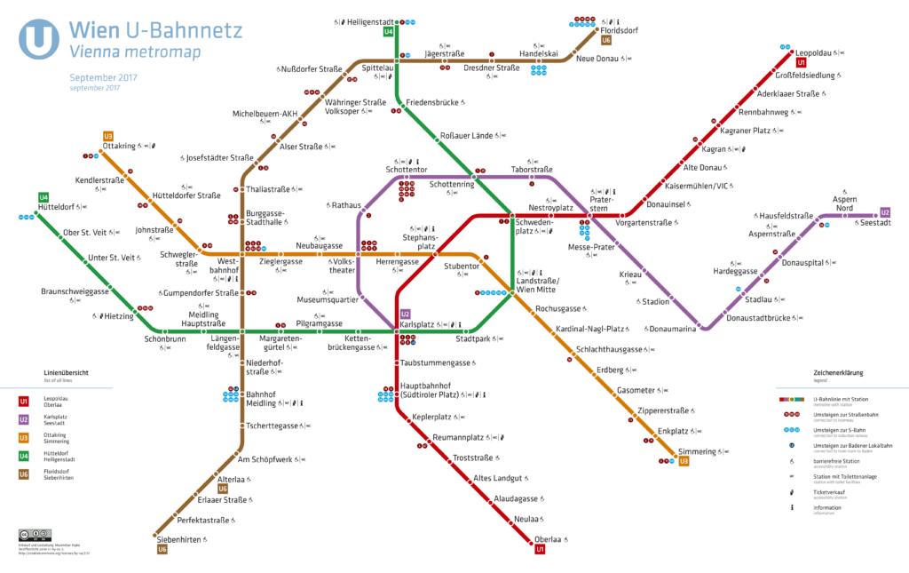 U-Bahnnetz Wien, 2017