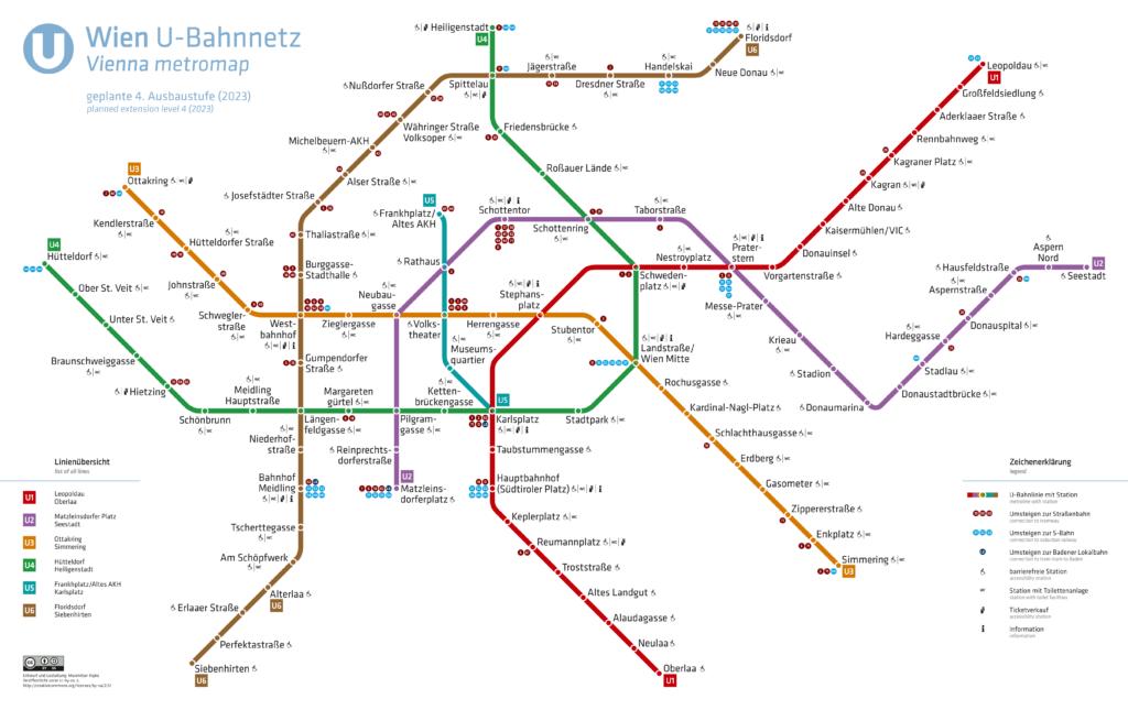 U-Bahnnetz Wien, 2023