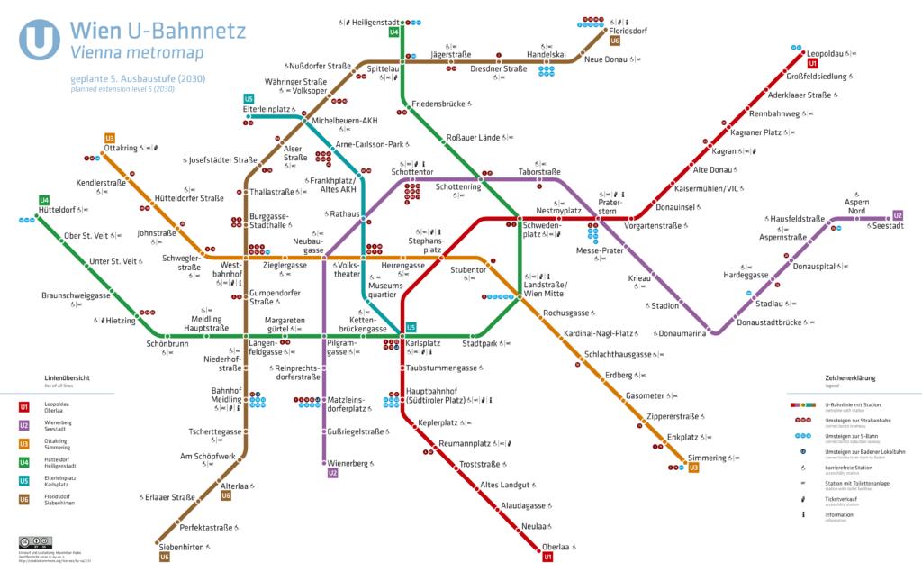 U-Bahnnetz Wien, 2030