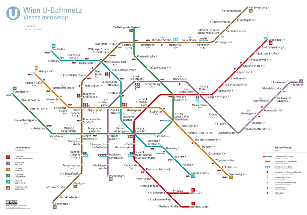 U-Bahnnetz Wien, Zielnetz