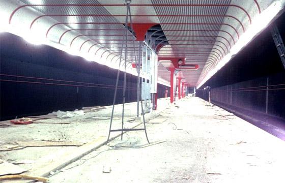 U1 Station Nestroyplatz, 1979