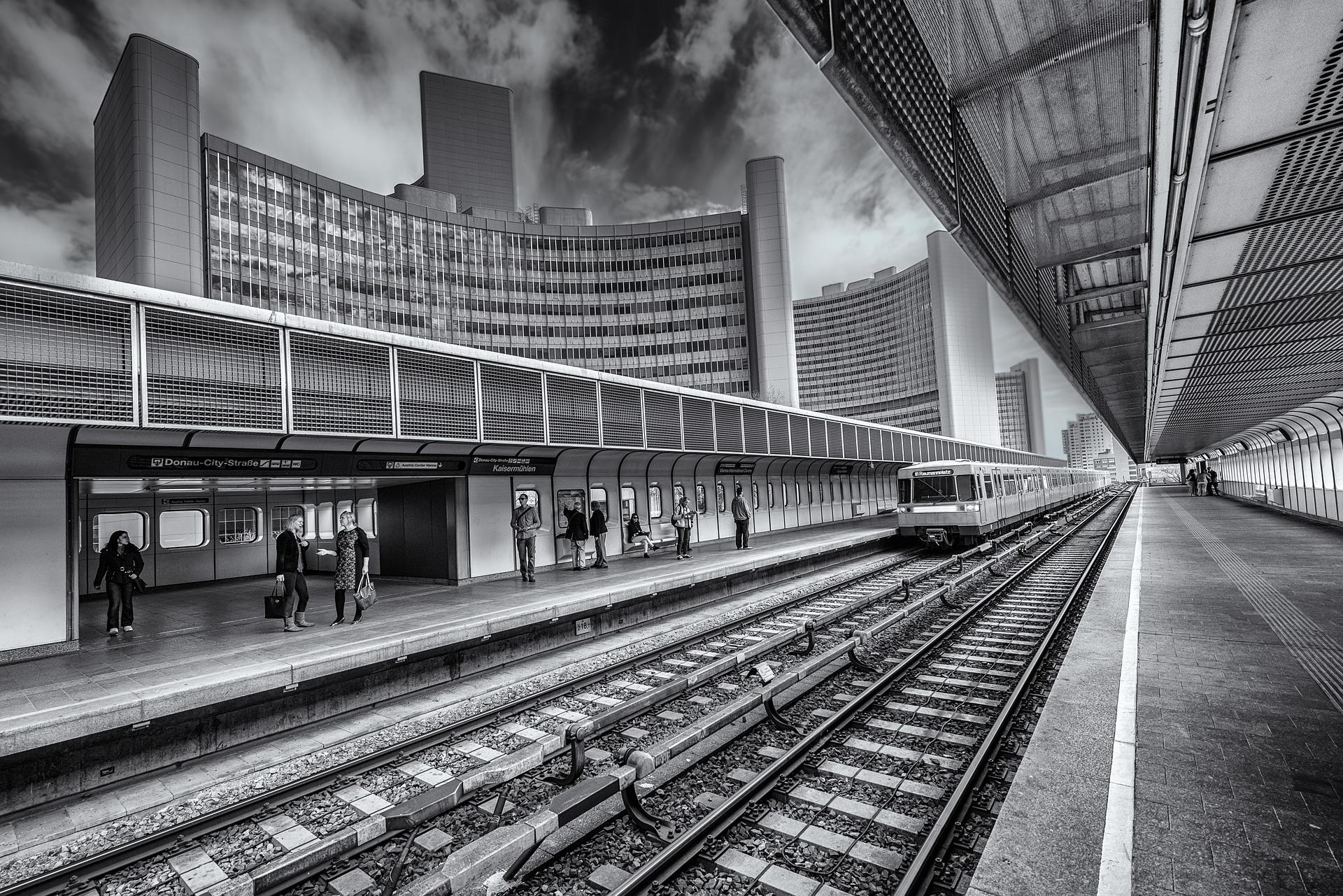 U1 Station Kaisermühlen