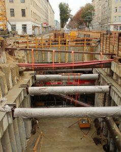 U1 Troststrasse - Offene Bauweise