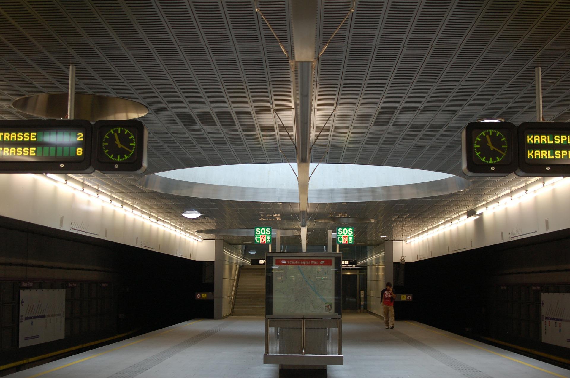 Leitsystem der Wiener U-Bahn