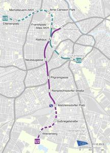 U2/U5 - Neue Strecke, Netzausbau