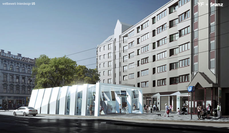 U5 Station-Design, neue Formen